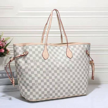 shosouvenir : LV Women Shopping Bag Leather Tote Handbag Shoulder Bag