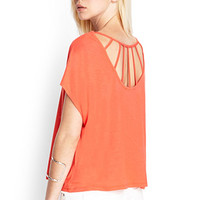 FOREVER 21 Caged Knit Top