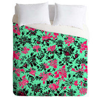 Romi Vega Vintage Wallpaper Duvet Cover
