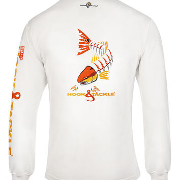Men's Redfish Bones L/S UV Fishing T-Shirt