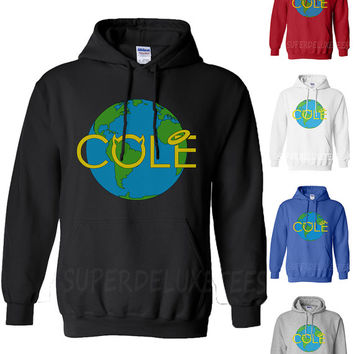 J Cole World Born Sinner Hooded Sweatshirt Rocnation Hoodie Rap Cole World Dreamville