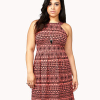 Knit Tribal Print Dress | FOREVER 21 - 2039237178