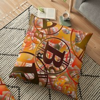 'BITCOIN' Floor Pillow by IMPACTEES