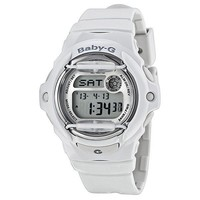 Casio Baby G Digital White Resin Ladies Watch BG169R-7ACV