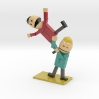 Terrance and Phillip (South Park) by SouthPark on Shapeways