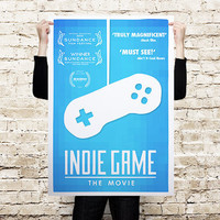 The Indie Game Movie Poster