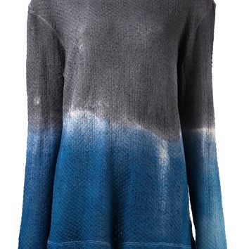 The Elder Statesman Dip Dye Sweater
