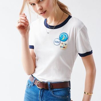 Truly Madly Deeply Patches Tee