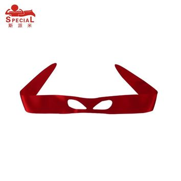SPECIAL Plain Super Hero Ninja Fabric Mask Soft Satin Costume Kids Face Eyewear Halloween Mask Turtle Outfits Masquerade Masks