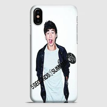 Calum Hood 5Sos Cover iPhone X Case | casescraft