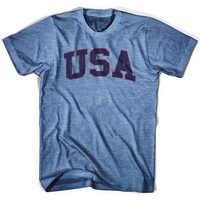 USA Vintage T-shirt, Athletic Blue