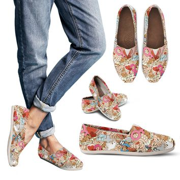 Stop Breast Cancer Casual Shoe