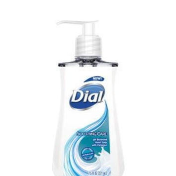 (2 Pack) Dial Liquid Hand Soap, Soothing Care, 7.5 Ounce