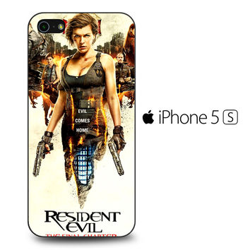 Resident Evil The Final Chapter iPhone 5[S] Case