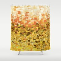 :: Sun Compote :: Shower Curtain by :: GaleStorm Artworks ::