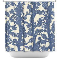 Shower Curtains By Julia Grifol Romantic Tree II