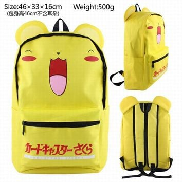 New  MAD HOUSE Totoro  at Freddy&apos men and women common backpack high school students backpack high - capacity tr