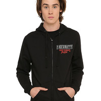 Five Nights At Freddy's Freddy Fazbear's Pizza Security Zip Hoodie
