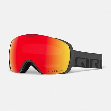 Giro - Contact Grey Wordmark Snow Goggles / Vivid Ember + Vivid Infrared Lenses