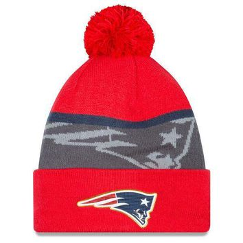 New England Patriots Adult Gold Collection Knit Hat 1