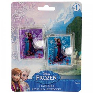 Disney Frozen Mini Keychain Notebooks Set