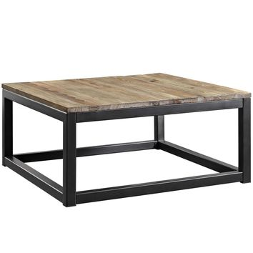 Attune Reclaimed Look Industrial Modern Coffee Table