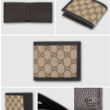 WALLET GUCCI PORTAFOGLIO CREDIT CARD DOLLAR CALF ORIGINAL AUTHENTIC GIFT IDEA