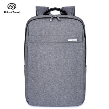 This Season New Men Leisure Travel 17 inches Computer Bag Laptop Backpack Teens Portable Nylon Waterproof Rucksack T6750B