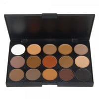 15 Dazzling Colors Eyeshadow Makeup Palette