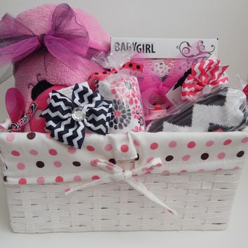 Ladybug Baby Shower Gift Basket Theme - Premium Plus