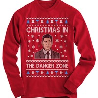 Ugly Christmas Sweater In The Danger Zone