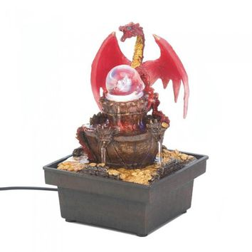 Red Dragon Tabletop Water Fountain ( 4pk )