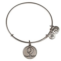 Alex and Ani Golf Tee Charm Bangle - Russian Silver