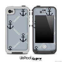 Vintage Anchor V3 Skin for the iPhone 5 or 4/4s LifeProof Case