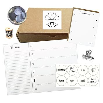 Chic Desk Gift Set