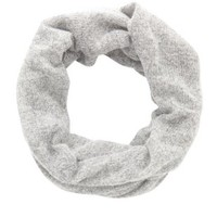 Marled Open Knit Infinity Scarf by Charlotte Russe