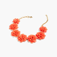 J.Crew Womens Rose Wreath Necklace