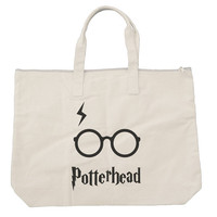 Potterhead Tote bags. Black or Natural color