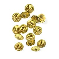 Extra Metal Pin Backs (Set of 15)