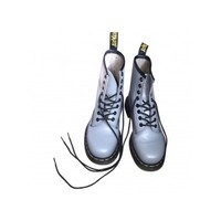 Grey Ankle boots DR. MARTENS