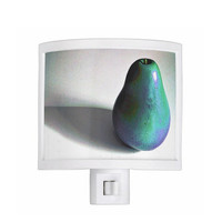 Night Light - Groovy Pear - turquoise, purple, kitchen, newlyweds, new home, fun design, fruit decor, gift idea - Made To Order - GP#79