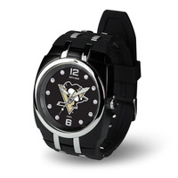 Pittsburgh Penguins NHL Crusher Series Mens Watch