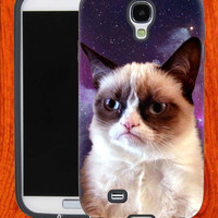 Galaxy Grumpy Cat,Accessories,Case,Cell Phone,iPhone 4/4S,iPhone 5/5S/5C,Samsung Galaxy S3,Samsung Galaxy S4,Rubber,27-11-14-Hk