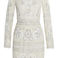 Needle & Thread - Embellished georgette mini dress