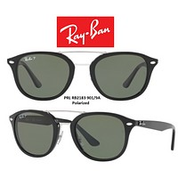 Cheap Ray-Ban Sunglasses RB2183 901/9A Highstreet Polarized Size 53 100% Authentic outlet