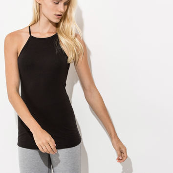 Women's High Neck Tank Top | Florence Tank | Kit and Ace