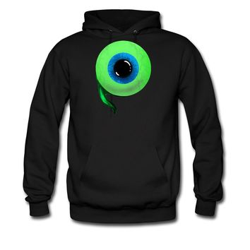 Jacksepticeye Eyeball Men's Hoodie, M, black