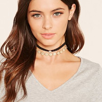 Medallion Lace Choker Set