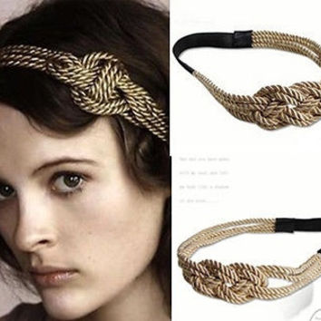 "Hot Film Blair ""gossip girl"" Hemp Rope Girl Headband Hairband Accessories Lady's = 1928883332"