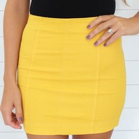 HOPELESSLY SMITTEN MINI SKIRT